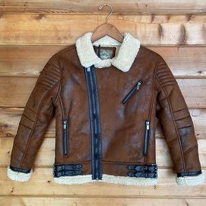 Jordan Craig Legacy Edition Moto Sherpa Jacket